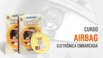 Curso - Eletrônica Embarcada - Airbag - Módulo 4 - VIDEOCARRO - 11.10.01.189 - Unitário