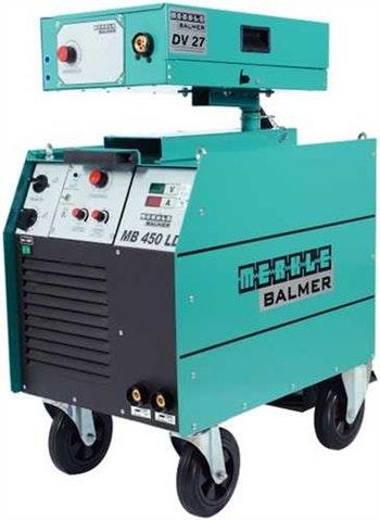 Fonte Solda MIG MB450LD Trifásico 450A com Cabeçote Externo DV 27 Completa 220/380V - Balmer - 60087001 - Unitário