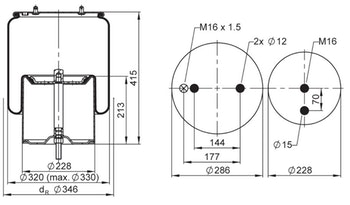 Mola Cilíndrica - Contitech - 67254 - Unitário