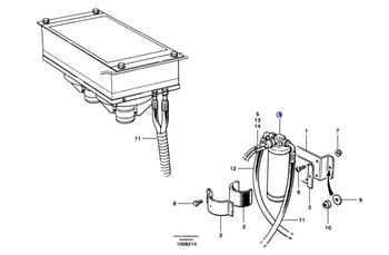 Filtro Secador - Volvo CE - 12745393 - Unitário
