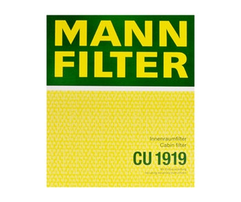 Filtro do Ar Condicionado - Mann-Filter - CU1919 - Unitário