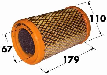 Filtro de Ar - WIX - W48910BR - Unitário