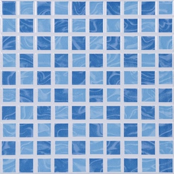 Piso Cerâmico Aquarela Azul 25 x 25cm - Cerâmica Porto Ferreira - 79636 - Unitário