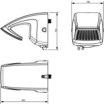Ducha Futura Multitemperaturas Branco 6800W 220V - Lorenzetti - 7531281 - Unitário