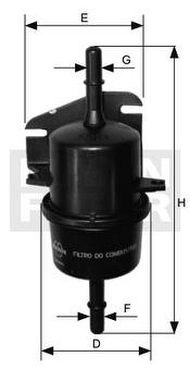 Filtro Blindado do Combustível - Purolator - F1048 - Unitário
