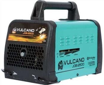 Transformador de Solda Vulcano Job 2500 Mono/Bifásico 40-180A 110/220V com Acessórios - Balmer - 30298800 - Unitário