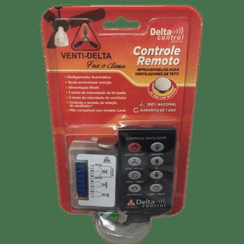 Controle Remoto para Ventiladores de Teto - Venti-Delta - 12-0194 - Unitário