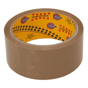 Fita Adesiva Polipropileno Marrom 48mmx50m - Eurocel - PP 33-878 - Unitário