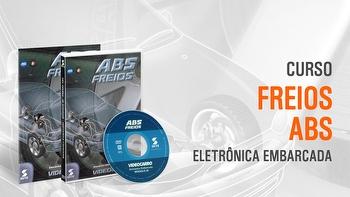 Curso - Eletrônica Embarcada - Freio ABS - Módulo 3 - VIDEOCARRO - 11.10.01.188 - Unitário