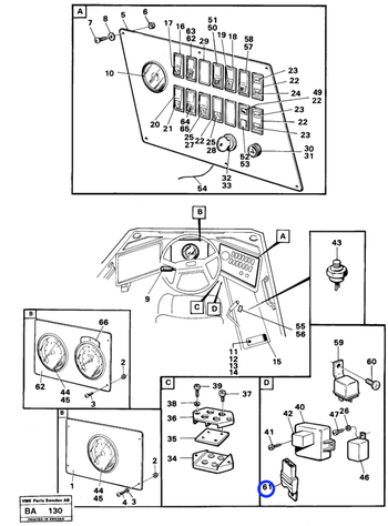 Porta Fusível - Volvo CE - 11039490 - Unitário