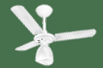 Ventilador de Teto New Delta Light Branco com 3 Pás 127V - Venti-Delta - 38-3148 - Unitário