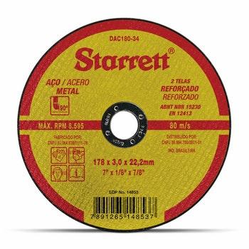 Disco de Corte - Starrett - DAC180-34 - Unitário