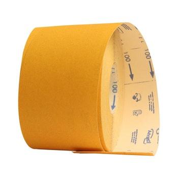 Rolo de lixa madeira G125 grão 100 - 120mmx45m - Norton - 69957365591 - Unitário