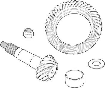 Coroa e Pinhão do Diferencial - Spicer - 22856-1X - Unitário