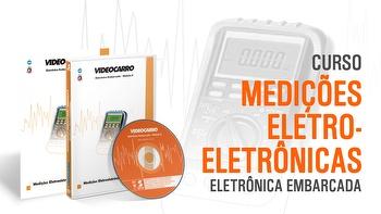 Curso - Eletrônica Embarcada - Medições Eletroeletrônicas - Módulo 2 - VIDEOCARRO - 11.10.01.187 - Unitário