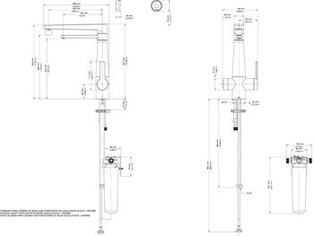 Torneira para Cozinha com Purificador de Água DocolVitalis - Docol - 00810306 - Unitário