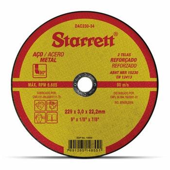 Disco de Corte - Starrett - DAC230-34 - Unitário