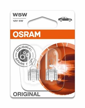 Lâmpada Halogena W5W (2825) - Osram - 2825 - Unitário