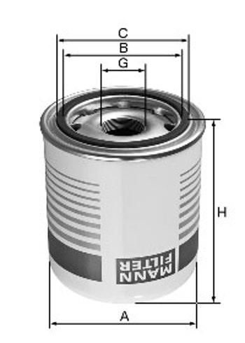 Filtro do Ar Comprimido - Mann-Filter - TB1374/3x - Unitário