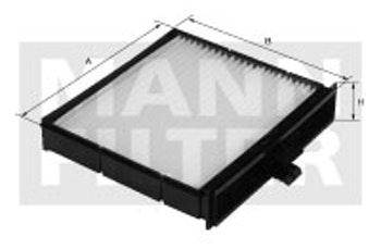 Filtro do Ar Condicionado - Mann-Filter - CU 22 007 - Unitário