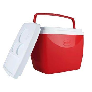 Caixa Térmica Vermelha 18L - Mor - 25108182 - Unitário