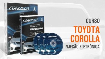 Curso - Injeção Eletrõnica - Toyotta Corolla - Módulo 35 - VIDEOCARRO - 11.10.01.254 - Unitário