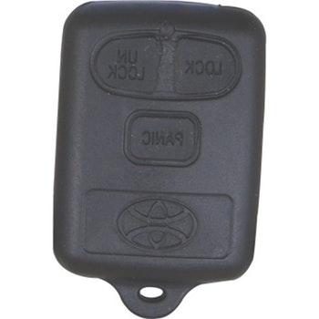 Capa do Telecomando 3 botões - Universal - 60432 - Unitário