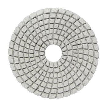 Disco diamantado flexível - Brilho d'água Grão 50 100mmxM14 - Norton - 70184643176 - Unitário