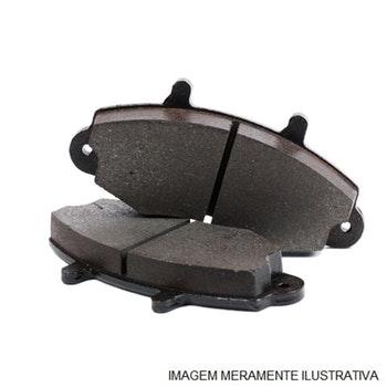 Pastilha de freio - Fras-le - PD/117 - Jogo
