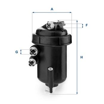 Filtro de Combustível - UFI Filters - 55.127.00 - Unitário