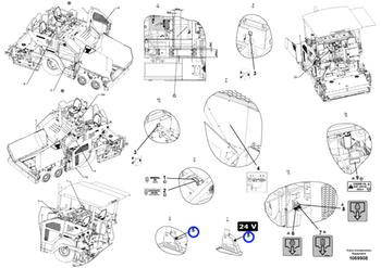 Decalque - Volvo CE - 16003532 - Unitário