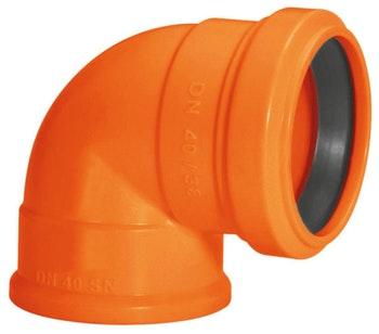 Joelho 90° com anel labial Amanco Silentium DN40 x 38 - Amanco - 15620 - Unitário