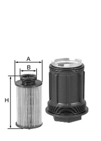 Filtro de Uréia - Mann-Filter - U58/1 Kit - Unitário