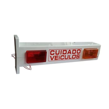 Sinalizador a LED com BIP Sonoro - Toller - TESG-1L - Unitário