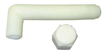 Kit Cotovelo Bomba D`Água com Tampão Longo - Kit & Cia - 30439 - Unitário