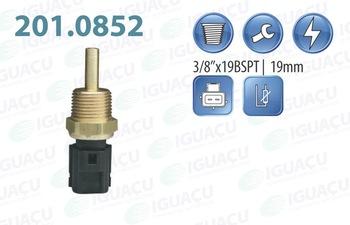 Sensor de Temperatura de Água - Iguaçu - 201.0852 - Unitário