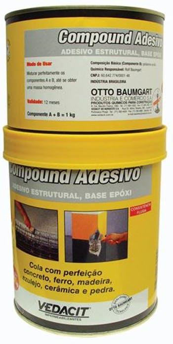 Compound Adesivo 1kg - Vedacit - 113040 - Unitário