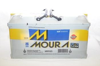 Bateria 95Ah 12V - Moura - M95QD - Unitário