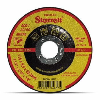 Disco de Desbaste - Starrett - DAD115-54 - Unitário
