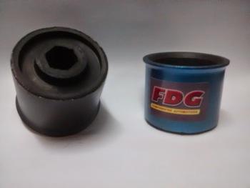 Bucha Traseira da Bandeja Dianteira - FDG Componentes Automotivos - HS1001 - Par