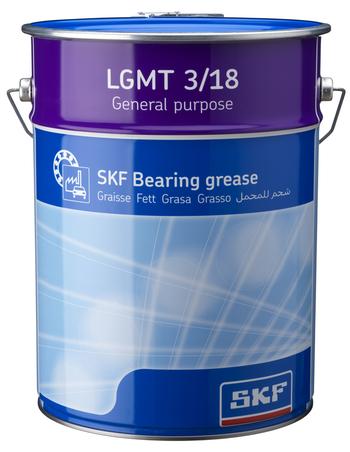 Graxa industrial e automotiva de uso geral NLGI3 - SKF - LGMT 3/18 - Unitário