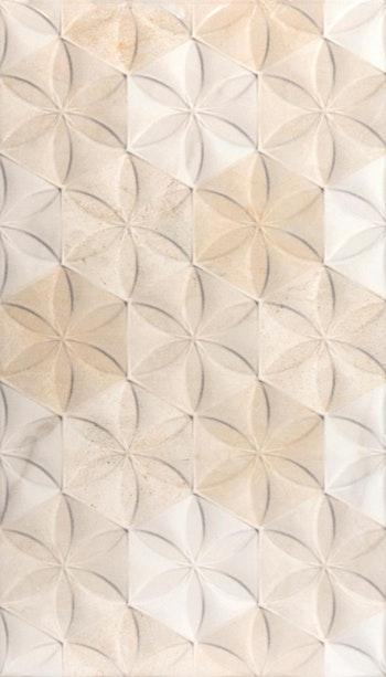 Revestimento Cerâmico Brilhante HD Bege 32.5 x 56.5cm - Incefra - HD-35370 - Unitário
