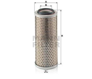 Filtro de Ar - Mann-Filter - C13114/4 - Unitário