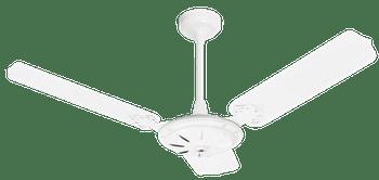 Ventilador de Teto New Comercial Eco com 3 Pás Branco 127V - Venti-Delta - 36-3100 - Unitário