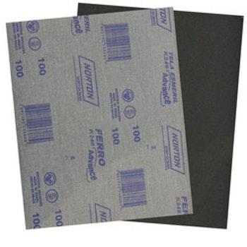 Folha de lixa ferro K246 grão 100 - Norton - 05539503253 - Unitário