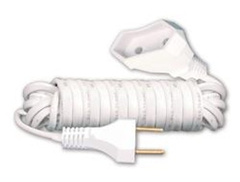 Cordão Prolongador PAR Macho/Fêmea 2x0,75mm² 10A 2m - F.C. Fios e Cabos - 0912-6 - Unitário