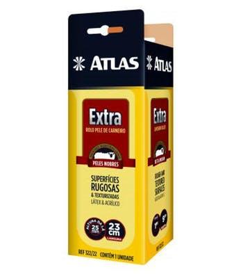 Rolo Extra de Pele de Carneiro 23cm - Atlas - 322/22 - Unitário