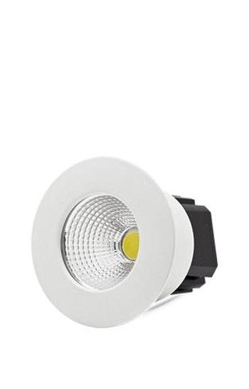 Spot LED Mini Redondo Fixo 3W - FLC - 4100050 - Unitário