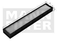 Filtro do Ar Condicionado - Mann-Filter - CU37001 - Unitário