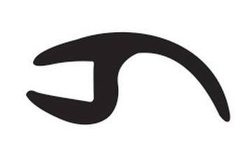 Borracha de perfil do Para-brisa - Uniflex - 37080 - Unitário